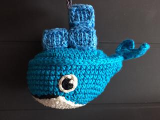 Free Crochet Amigurumi Whale Patterns : Ravelry docker whale amigurumi pattern by evelin del bosque