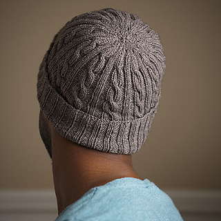 cef52813d389 Ravelry  Man-Approved Cabled Hat Pattern pattern by Chandi Agee