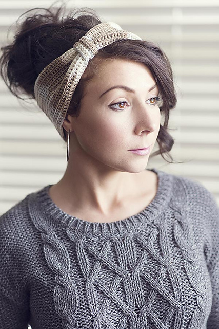 Ravelry: Latte Headband pattern by Chandi Agee