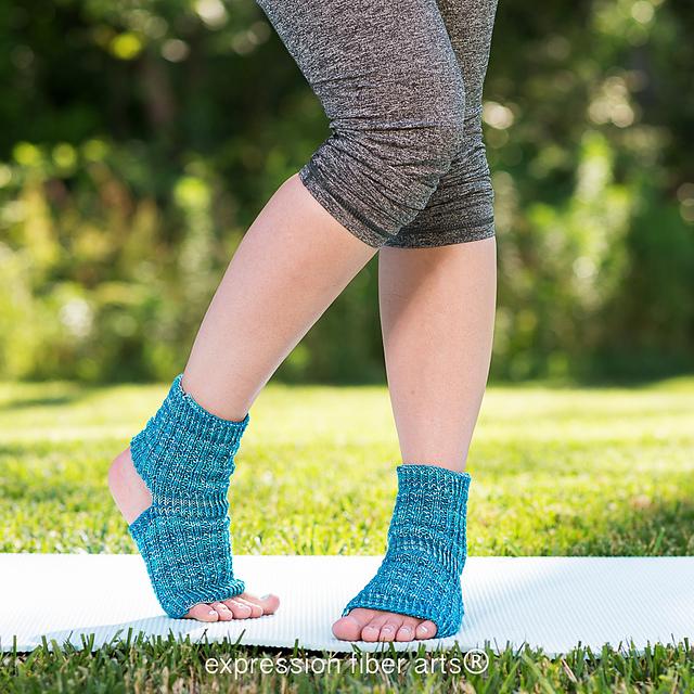 Ravelry Asana Yoga Socks Pattern By Chandi Agee