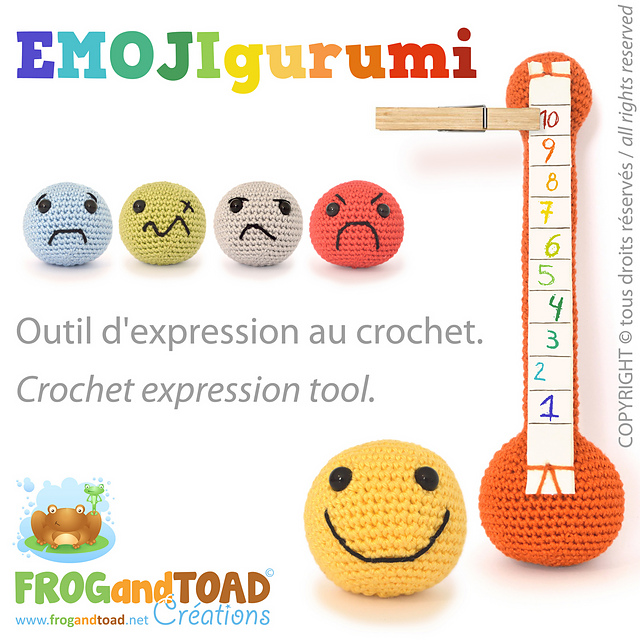 Ravelry: EMOJIgurumi Expression Emotion - Tool / Outil pattern by ...