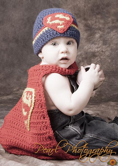 Ravelry Superman Costume Newborn Pattern By Family Bugs