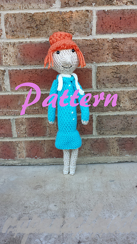 Ravelry: Despicable Me Lucy Doll Pattern pattern by SweetPeaCove