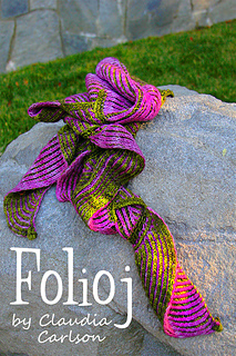 Folioj pattern by Fiber to Fabric Magic