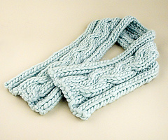 Biggy Cable Scarf PDF