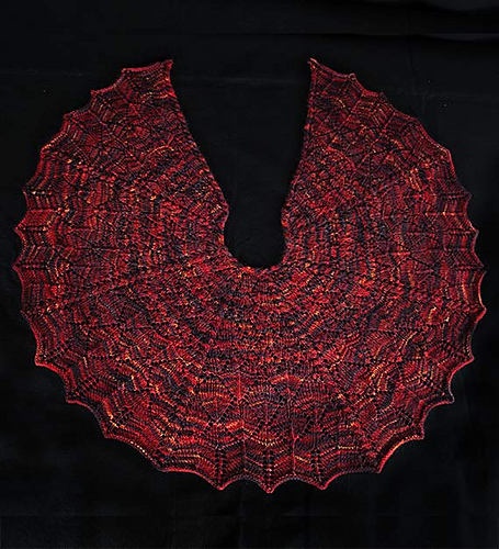 Dragon Wings Shawl Pdf At Fiberwild Knitting Yarns Needles