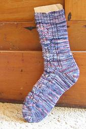 Pine Cone Sock PDF