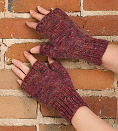 Easy Fingerless Mitten PDF
