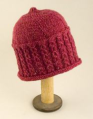 Mock Cable Rib Hat PDF