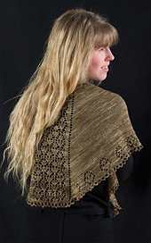 Double Diamond Shawl PDF