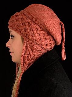 Ravelry  Kolmen Earflap Hat pattern by Amy Loberg (FiberWild!) 341c2253373