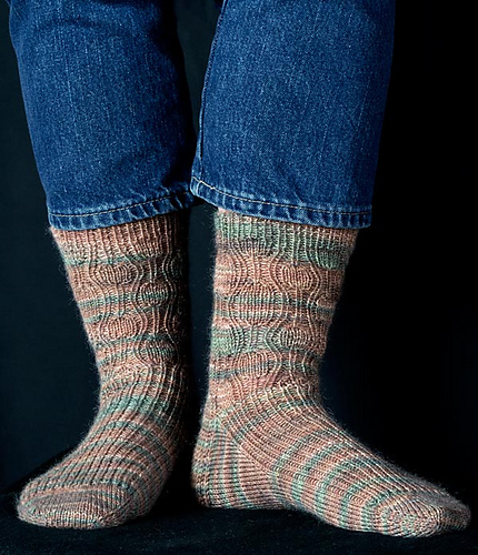 Pinnacles Socks PDF