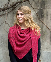 Rose Wedge Shawl PDF