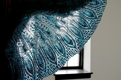 Feather Dance Shawl PDF