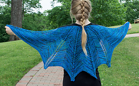 Winter Fire Shawl PDF