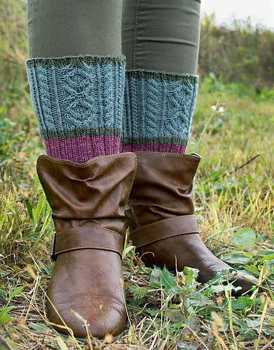 Scottish Heather Sock PDF
