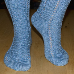 Staghorn Lace Sock PDF