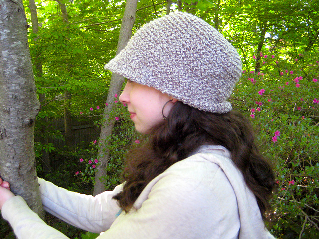 Ravelry Backloop Visor Beanie Pattern By Erica Jackofsky Fiddle Knits