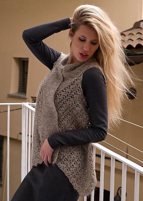 4afa7c905 Ravelry  Agnes Vest pattern by Filatura Di Crosa Italia s.r.l.