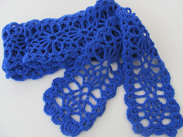 Ravelry: Sweet Lorraine Lace Scarf or Wrap pattern by Doris Chan