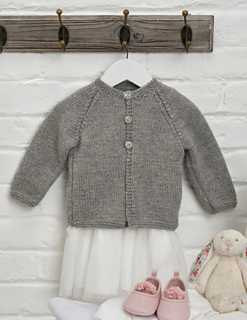 e7d2abde71e9 Ravelry  Cozy Classic Baby Cardigan pattern by Monica Russel