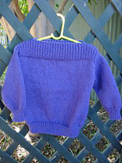 Ravelry Simple Childs 8 Ply Jumper With Dropped Shoulders