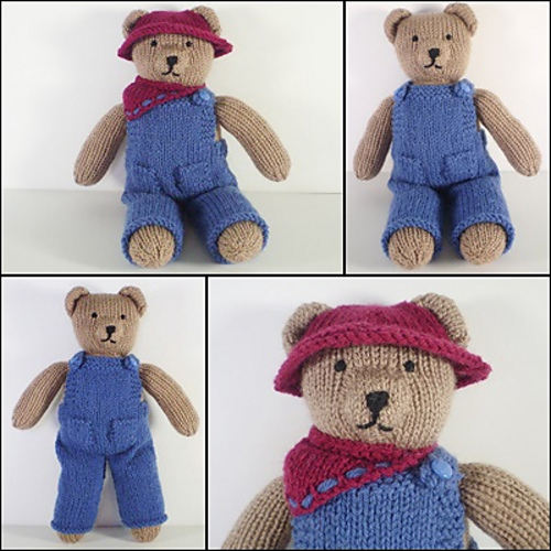 Ravelry Teddy Bear Clothes Pattern By Frankie Brown