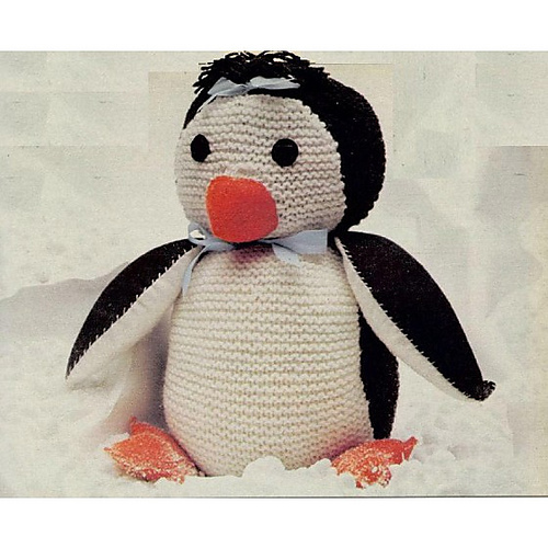 Ravelry Pip The Penguin Pattern By Womans Weekly