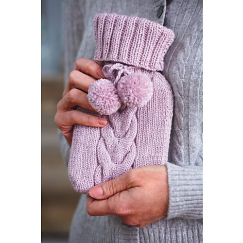 Ravelry Mini Hot Water Bottle Cover Pattern By Frederica Patmore