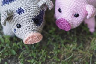 5d45ebc8aff Ravelry  Pig Amigurumi CAL pattern by Brenna Eaves