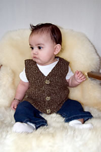 Ravelry Baby Boy Vest Pattern By Lorna Miser