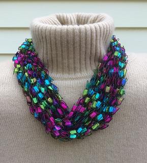 Ravelry French Knit Ladder Yarn Necklace Pattern By Gemma
