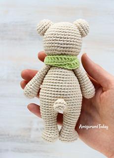 Cuddle me bear amigurumi pattern by Amigurumi     - Ravelry
