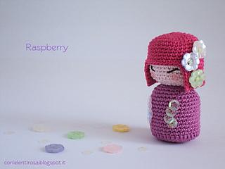 Amigurumi Kokeshi Doll Pattern : Ravelry: [eng] amigurumi crochet pattern: spring kokeshi pattern by