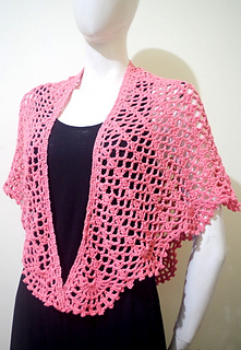 ba8a6a2a69 Ravelry  Wendy Summer Shawl pattern by Girlie D. de los Reyes