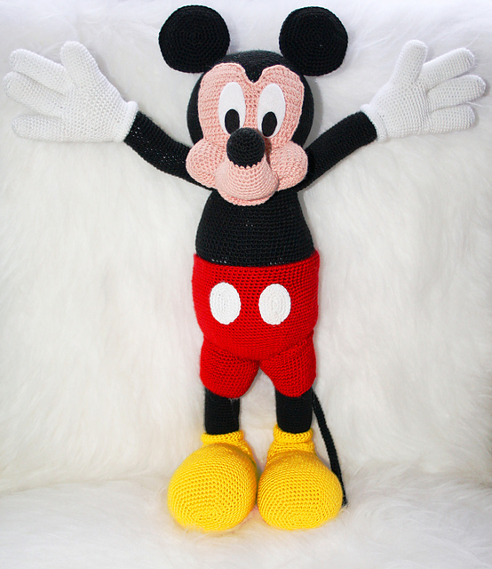 Ravelry: Mickey mouse pattern by Laila Saide