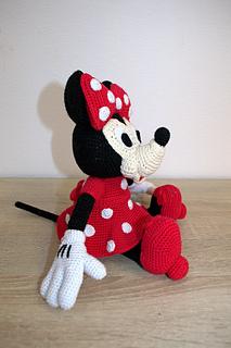 Crochet Pattern Owl Amigurumi : Ravelry: Mini Minnie Mouse Amigurumi pattern by Laila Saide