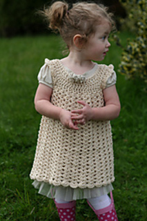 Ravelry Angel Wings Pinafore Pattern By Maxine Gonser