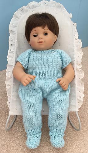 2d2476381 Ravelry  Sweet Baby Doll Onesie pattern by Janice Helge
