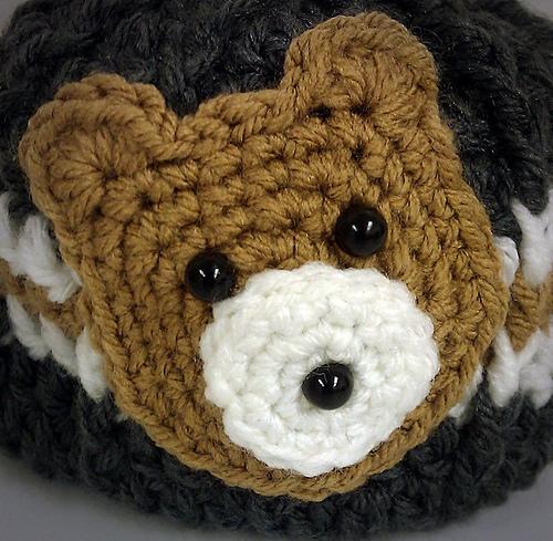 Ravelry Bear Head Applique Pattern By Gwen Duhart