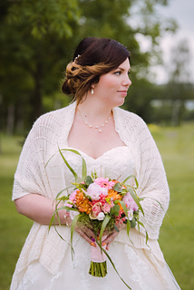 Beaded Bridal Shawl By Kirsten Ballering Haak Maar Raak