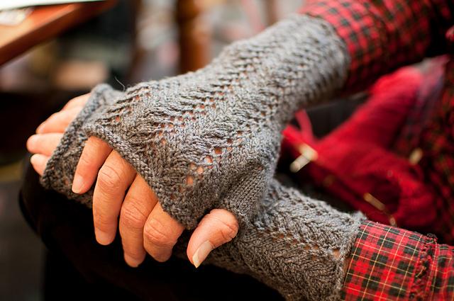 Ravelry Fern Lace Arm Warmers Pattern By Cynthia Parker