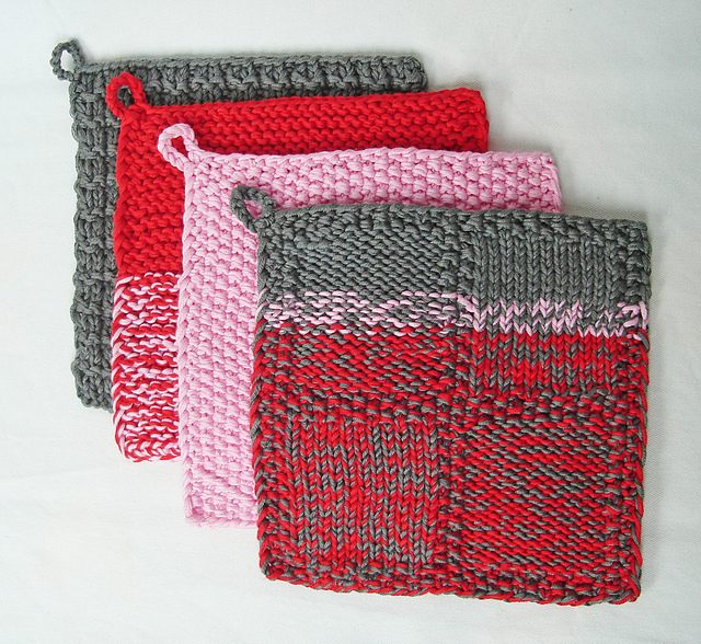 Ravelry Potholders For Beginners Pattern By Handmadehandsome