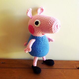 Pig Rabbit Amigurumi Patron : Ravelry: Peppa Pig Amigurumi pattern by Sabrina Boscolo