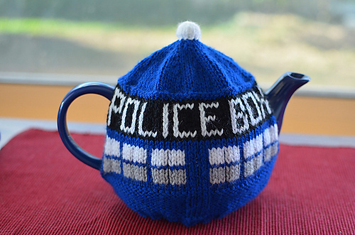 Ravelry Tardis Tea Cosy Pattern By Gail Hodgman
