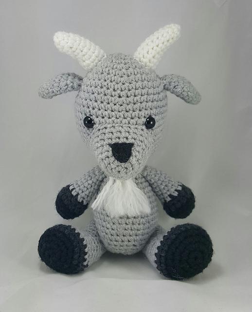 Ravelry Goat Amigurumi Pattern By Megan A
