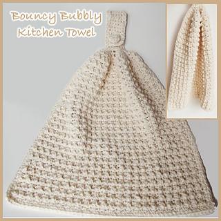 Ravelry: Bouncy Bubbly Kitchen Hand Towel Pattern By Rhelenau0027s Crochet  Patterns