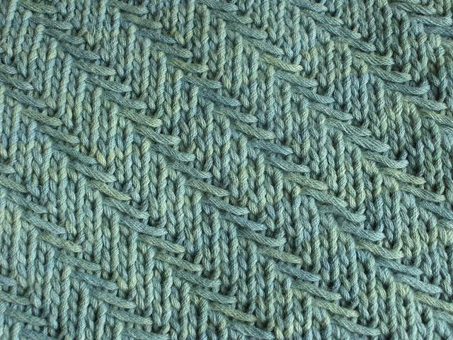 Ravelry Woven Diagonal Herringbone Pattern By Barbara G Walker