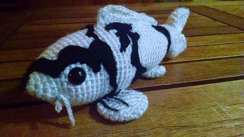 Ravelry koi fish 6 colors realistic amigurumi crochet for Koi teichbau anleitung
