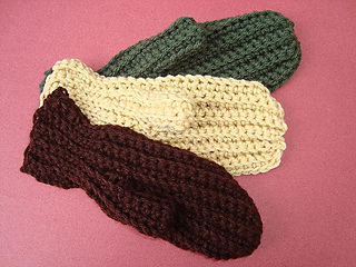 Ravelry 120 Sideways Mittens Crochet Pattern Age 2 To
